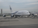 A380 von Malaysia Airlines in Paris CDG